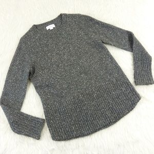 Velvet by Graham & Spencer Gray Marl Sweater
